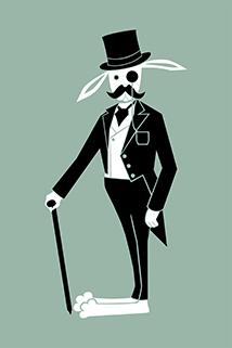 Postcard - Mister Rabbit